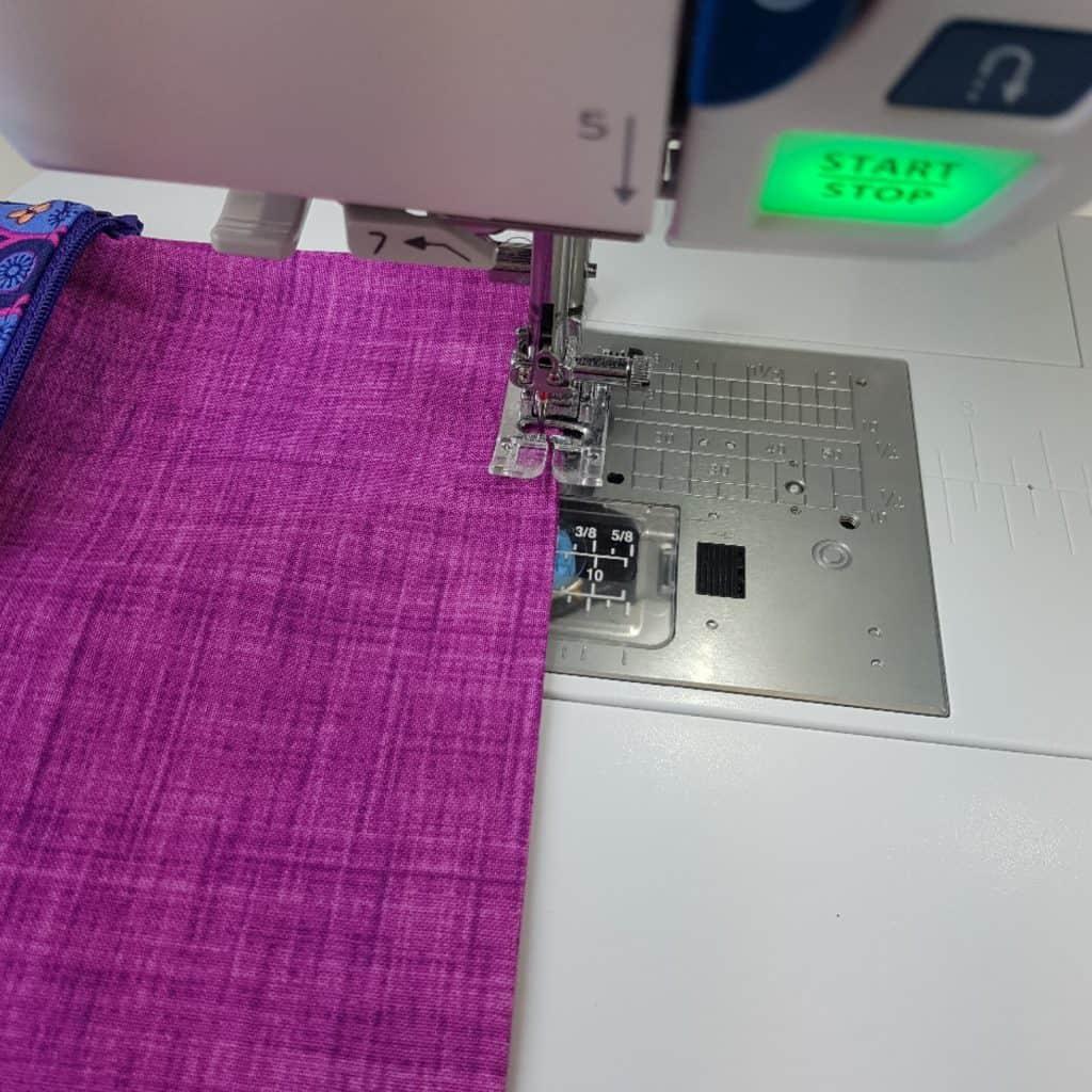 sew turning hole