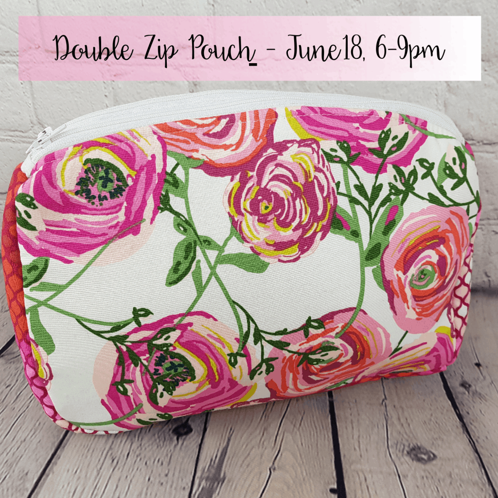filigree double pouch