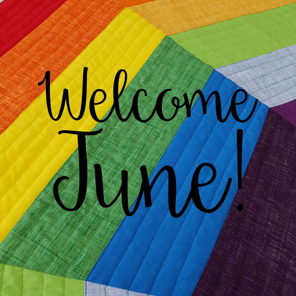 Welcome June Rainbow